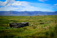 2014 Journey from Nevada - Idaho, Montana, Washington, Oregon and back to Nevada trip. These ruins were found on the west side of the highway heading North to Salmon, Idaho